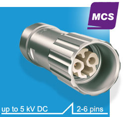 high voltage connector Series MCS