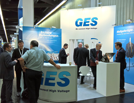 GES High Voltage, Messestand