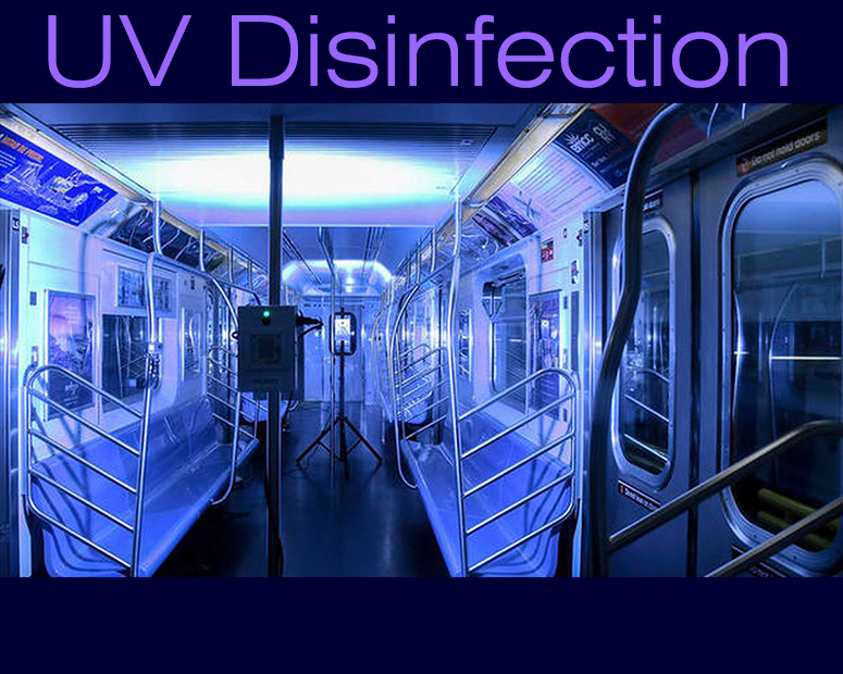UV disinfection New York City MTA